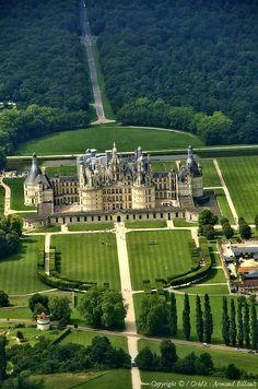 Château de Chambord, Loir-et-Cher, France