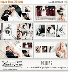 Free Wedding Album Templates | Wedding album layout inspiration ...