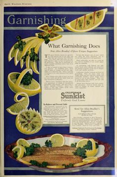 Sunkist Lemons 1919