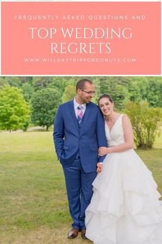 Wedding Regrets and How to Avoid Them When Planning Your Own