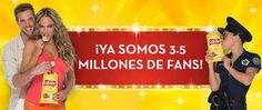 Promo Sabritas 3.5 millones de fans