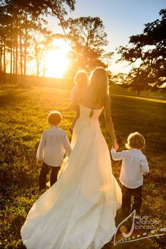Baton Rouge bridal session in field with children | India Rives 12.20.12…