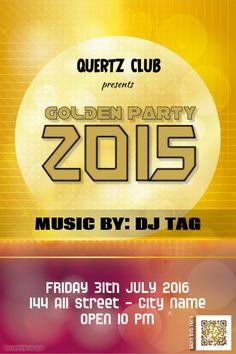 Party flyers - Golden style http://www.postermywall.com/index.php/poster/view/16c83fd6145e25154e53a3701741d6c4