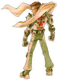 Jin Saotome (Cyberbots: Full Metal Madness) - Marvel vs Capcom 2 Concept Art