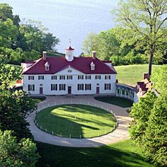 Mt. Vernon George Washington's home on the Potomic River (Sept 2015), near Washington D.C and Alexandria, Virginia.