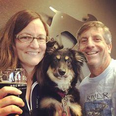 @erinnstumpf: Citra can't decide if she likes the Beer Week IPA or Lowbrau Milk Stout better. #sacbeerweek #sacramento #beerweek #craftbeer #craftbrew #beerdog #SBW2016