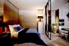 Спальня в небольшой квартире