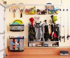 Golf Bag & sports equipment storage