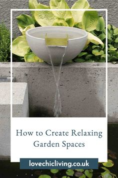 With This relaxing garden inspiration, you'll want to create your very own meditation garden that you can hide away in when life gets a little bit stressful. Here's our guide to creating a relaxing garden retreat. #lovechicliving Garden Inspiration, Garden Ideas, Fold Up Chairs, Contemporary Garden Rooms, Trellis Panels, Meditation Garden, Garden Screening, Outdoor Retreat, Cool Tables