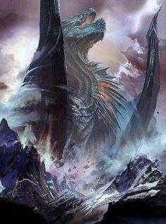 Creatures – Famous Last Words Dark Fantasy Art, Fantasy Artwork, Fantasy Monster, Monster Art, Mythical Dragons, Fantasy Beasts, Dragon Artwork, Mythical Creatures Art, Dragon Pictures