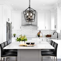 Custom Kitchen Cabinets, Color Schemes, Table, Kitchens, House, Inspiration, Furniture, Beautiful, Design