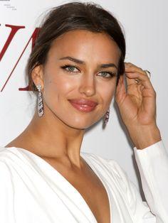 Irina Shayk . i love her earings.