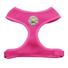 White Daisies Chipper Pink Dog Harness Small *** For more information, visit image link.Note:It is affiliate link to Amazon.