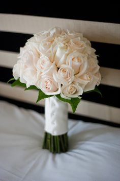 Image detail for -... Inspiration: Bride's bouquet of ivory roses | amouramour.com.au