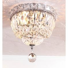 Somette Chrome 2-Light Chandelier - Free Shipping Today - Overstock.com - 14037586 - Mobile