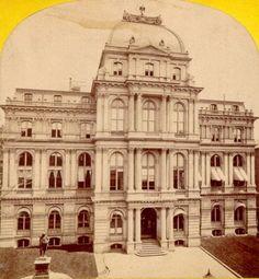 Chpt 8: Old City Hall, Boston MA 1862–1865; Boston, Massachusetts; Arthur Gilman and Gridley J. F. Bryant. Second Empire period