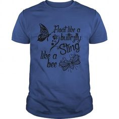 Awesome Tee Float Like Butterfly Sting Like Bee Boxing TShirt Shirts & Tees