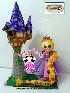rapunzel+con+torre.jpg (1158×1543)