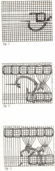 Interesting web site for Punto Antico/ Drawn-Thread Work.  Also has some instructions for some of the stitches