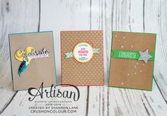 Let the Shine On DSP be the star with clean and simple cards! ~Shannon
