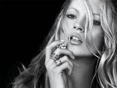 portrait - Kate Moss photographed by Peter Lindbergh for David Yurman _ Peter Lindbergh, Kate Moss, The Face, Claudia Schiffer, Top Models, Playboy, Ella Moss, Jean Paul Goude, Manequin