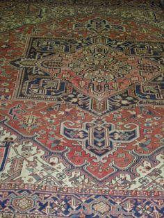 Handmade Heriz Rug (Ref: 20) by Little-Persia