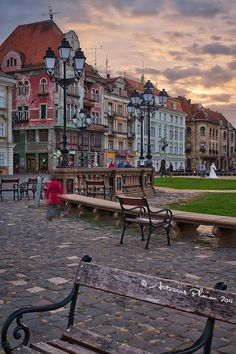 Union Square, Timisoara, Romania , my home town