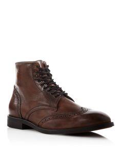 H By Hudson Greenham Wingtip Boots