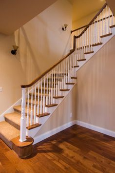 French country style home traditional staircase