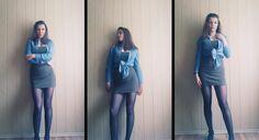 Goood Fashion: KHAKI SKIRTS AND DENIM | KHANIM