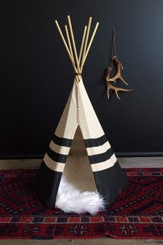 Handcrafted Native American Pet Teepee - XXSmall