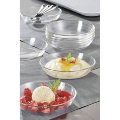 Für mehr Glanz in der Küche: die #Glasschalen #COSMOS von #Luminarc