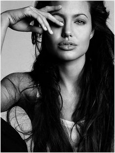 Angelina Jolie. Such a beautiful woman.