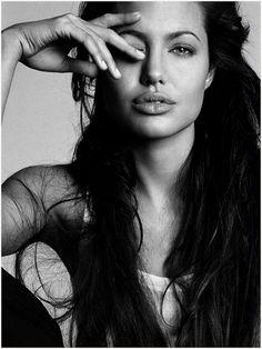Angelina Jolie. Such a beautiful woman.