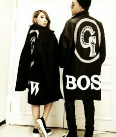 Skydragon ( CL & G Dragon) the king and queen of kpop.
