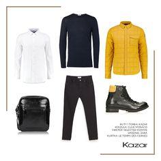 Szukasz pomysłu na przełamanie klasycznych ciemnych barw modnym, świeżym akcentem? Postaw na stylizację w trendzie Electric Black, który podkreśli nowoczesny look i nieschematyczne podejście do męskiego stylu.