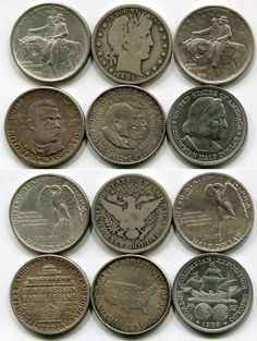 Old American Coins | Old American Coin Collection Capped Bust Coins Liberty Seated Coins ...