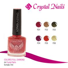 #Colores #FullDiamond de #CrystalNails