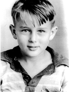 Very young James Dean