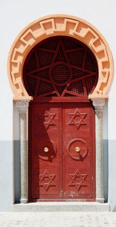 TRAVELINGCOLORS  Amazing door in Melilla, Spain