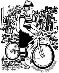 black bike drawing - Google Search