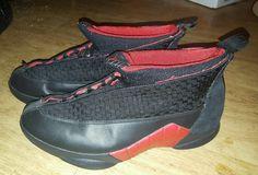 sale retailer 4ed84 32ca6 Nike Air Jordan XV 15 Retro Black Red Countdown Pack 2008 CDP 317111 062 Sz  12   eBay