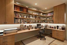 HappyModern.RU | Угловой компьютерный стол: 40 идей практичных вариантов для домашнего офиса | http://happymodern.ru