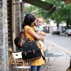 Sac à langer Robyn convertible backpack noir : Babymel