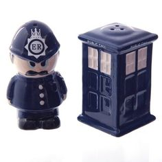 Salero y pimentero Policia
