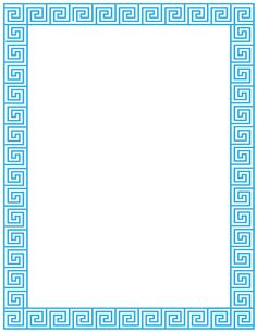 Printable Greek key border. Free GIF, JPG, PDF, and PNG downloads at http://pageborders.org/download/greek-key-border/. EPS and AI versions are also available.