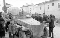 A SdKfz 250 in Bulgaria during 1941