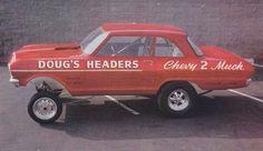 DOUG'S HEADERS 'Chevy 2 Much' gasser