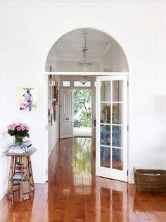 Hardwood floors, baby! (HelenBayley-hallway3)
