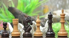 Chessbazaar The Staunton Series Triple Weighted Club Chess Pieces In Rose  Box Wood >>> Continue to the product at the image link.